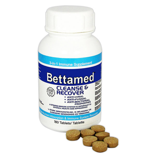 Bettamed Cleanse & Recover - 180 Tabs